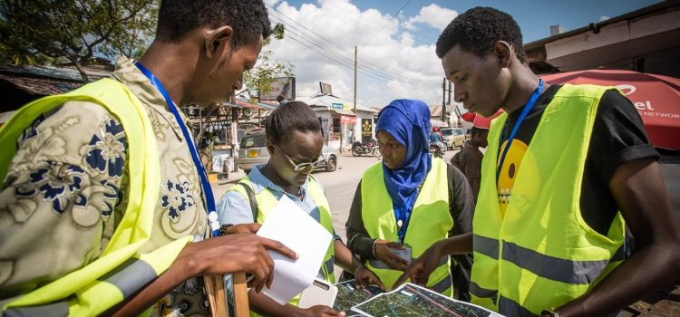UTU Tanzania team and four Tanzanian universities developing geospatial expertise to control risks posed by floods and climate change.